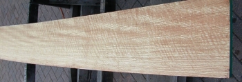 4/4 Curly Quartersawn Red Oak - 1185