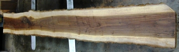 12/4 Walnut Live Edge Bar Top Slab - 1202
