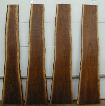 Thin Boookmatched Walnut - Set - 1344