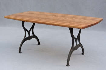 Zebrawood Table Top  - 1583
