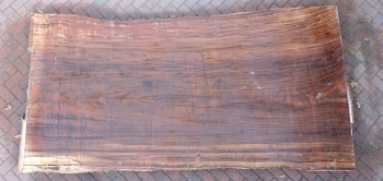 12/4 Guanacaste Live Edge Table Top slab 5206