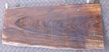 12/4 Guanacaste Live Edge Table Top slab 5207