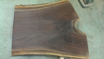 12/4 Crotch Walnut Slab 853