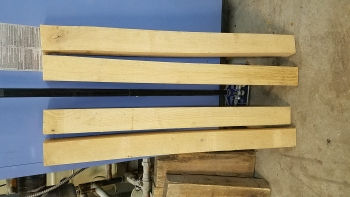 Red oak leg set