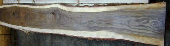 9/4 Walnut Live Edge Bar Top Slab - 1177