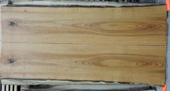8/4 Bookmatched Red Oak Live Edge Slabs - 1389 AB