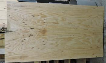 8/4 Bookmatched Red Oak Slabs- 2314 AB